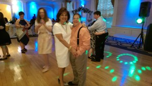 Billy Cameron, dancing with his mom at his 40th birthday party.